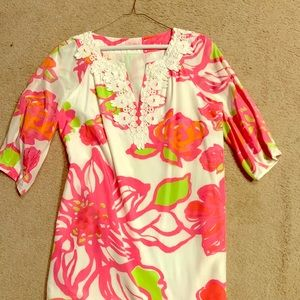 Lilly Pulitzer long sleeve shift dress